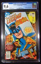 Untold Legend of the Batman #1 CGC 9.6..John Byrne's 1st DC work...Joker/Penguin