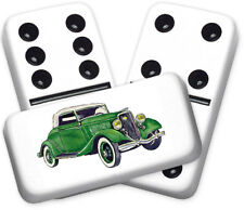 Americana Series 1934 Ford Design Double six Professional size Dominoes