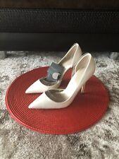 Zara High Heels White Shoes US Size 6.5