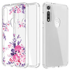 For Motorola Moto G Fast Shockproof Rugged Hybrid Crystal Clear TPU Case Cover