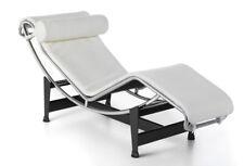 matelas pour chaise longue lc4 le corbusier cuir blanc