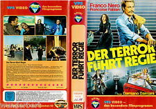 "VHS "" The Terror führt DIRECTOR How to kill a Judge ""1974 Franco Nero VPS"