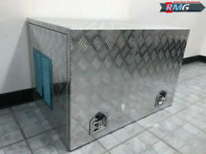 """Aluminum Generator Tool Box 35"""" (L) X 23""""(W) X 23"""" (H) For Honda Generator"""