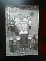 Bentley Drivers Club Review May 1989 + Illustrated With Vintage Photographs