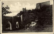 Bornholm Dänemark Danmark Hovedstaden AK ~1920 Hamsershus Broen Brücke Ruinen