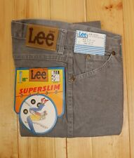 Vintage 80's 90's Lee Rider SuperSlim Fit Jeans W 28 L 34 Made in Ireland