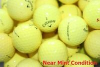 50Callaway Supersoft Yellow Near Mint Condition GolfBalls