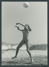 O. Photo Nude Woman Athletics Naked Sports Body Muscles Nude Beach Life reform 1958