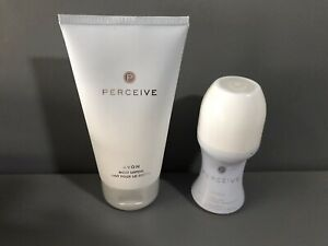 avon Perceive Body lotion An Roll On New Free Postage