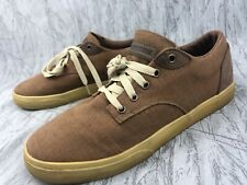 THE HUNDREDS JOHNSON LOW Brown  SHOES MENS SIZE 10.5