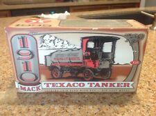 Ertl 1910 Mack Texaco Tanker Locking Coin Bank W/ Key 1995