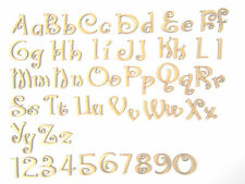 CHRISTMAS FONT WOODEN LETTERS lettering craft card wall art,door sign signage