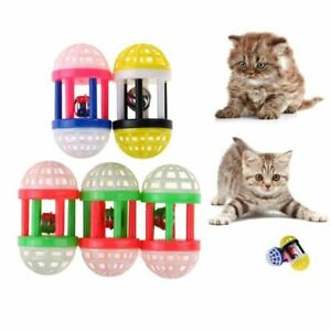 Plastic Kitten Pet Accessories Cute Training Pet Cat Toy Scratching Sound Toy