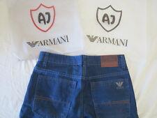 ARMANI Jeans in Denim cultura mano Craftman EDIZIONE LIMITATA MADE in ITALY 32 RARE