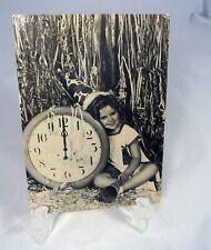 1986 Movie Star Photo Postcard Shirley Temple Black & White Unused