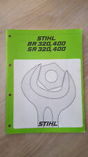 Stihl Reparaturanleitung BR 320, 400, SR 320, 400