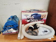 WORKING Vintage Royal Prince Handheld Vacuum Model 501 in Box & Attachments