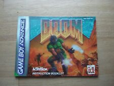 Doom Gameboy Manual Only