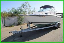 (C) 2000 Seaswirl Striper 21' Walkaround Boat and Tow Trailer NO RESERVE