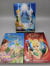Disney Tinker Bell Lost Treasure, Great Fairy Rescue, Secret of the Wings DVDs