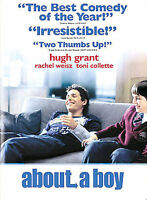 About a Boy DVD, 2003, Widescreen HUGH GRANT New SEALED