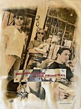 Vintage Big Head Todd And The Monsters Bhtm Shirt Size Xl 1994 Usa & Europe Tour