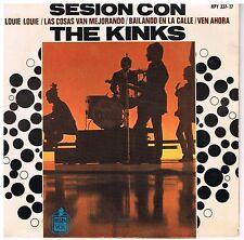 THE KINKS Sesion con The Kinks Hispa vox HPY 337 17 Rare Spanish EP