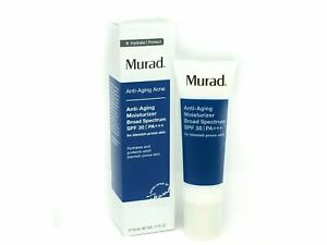 Murad Anti-Aging Acne Moisturizer Broad Spectrum SPF 30, 50ml/1.7oz New In Box