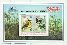NOEL - CHRISTMAS SOLOMON ISLANDS 1997 Birds & Buttefly