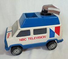 Vintage NBC Television Plastic & Metal Van Car by Tonka