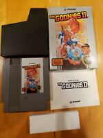 The Goonies II 2 (Nintendo NES) CIB. Complete and very nice!