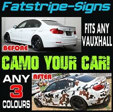 VAUXHALL INSIGNIA CAMO GRAPHICS STICKERS STRIPES DECALS VXR OPEL TURBO V6