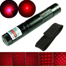 5 Miles Powerful Red Laser Pointer 5mw 650nm Laser Light Beam Foucs + Hoslter