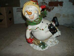 snow man christams ornament