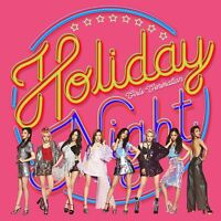 SNSD GIRLS' GENERATION - Holiday Night [ALL NIGHT ver.] CD+Poster+Free Gift