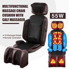 Massage Chair Cushion Leg Massager Shiatsu Pad for Neck Back 16 Nodes