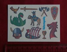 ® playmobil Tattoos - Wikinger Ritter Drachen - alt, circa 1990er? - NEU*