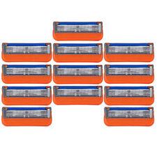 12 Pack Men's 5 Razor Blades Replacement For Gillette Fusion ProGlide