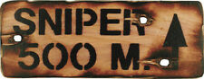 Wooden Patternless Free Standing Decorative Plaques & Signs