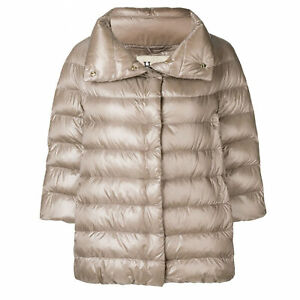 Herno Women's Taupe Aminta Iconic Puffer Jacket