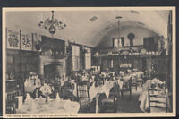 Worcestershire Postcard - The Dining Room, The Lygon Arms, Broadway   RS8342