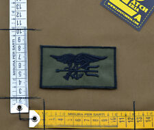 """Ricamata / Embroidered Patch """"Seal Insignia"""" OD with VELCRO® brand hook"""