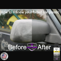 Back 2 Black Permanent Plastic Trim solutions to restore plastic trim and finish