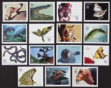 US 1996 #3105a-o Endangered Species Complete set of 15 stamps in Singles Mint NH