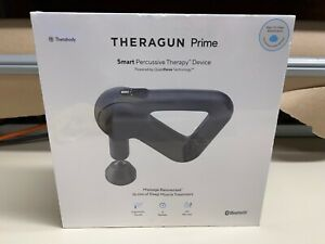 NEW THERAGUN PRIME SMART PERCUSSIVE MASSAGER DEVICE 5 SPEEDS *FACTORY SEALED*