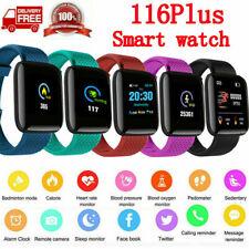 Sports Waterproof Smart Watch Bracelet Heart Rate Blood Pressure Fitness Tracker