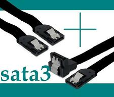 2x asus SATA3 Kabel 2 Stk SATA 6Gb/s gerade Winkel Clip Gigabyte MSI ASRock NEU