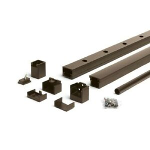 Trex Bronze 6-ft x 36-in Aluminum Stair Rail Kit with Round Balusters