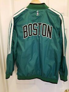 Amazing Collectible Reversible Adidas Boston Celtics Track Jacket Look!!! Y 14