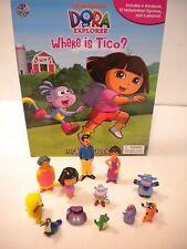 NEW Dora the Explorer Board Book Toy Doll Figure Lot Set Figurine Tico Boots